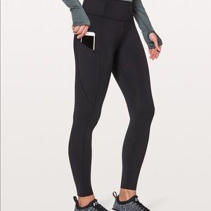 Lululemon leggings (with pockets )